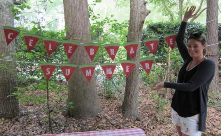 Hawkes celebrates summer