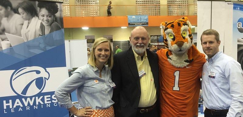 Our founder and Clemson alumni enjoyed visiting Clemson's career fair!