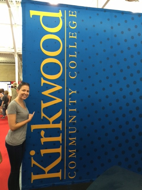 Kirkwood and Kelsey at the Iowa State Fair.