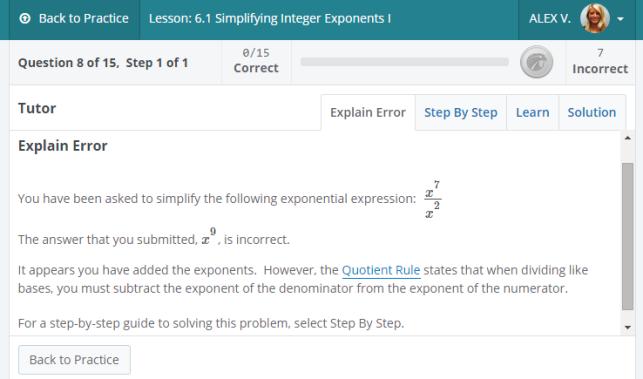 explain error 3