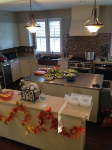 Charleston Ronald McDonald House's newly renovated kitchen.