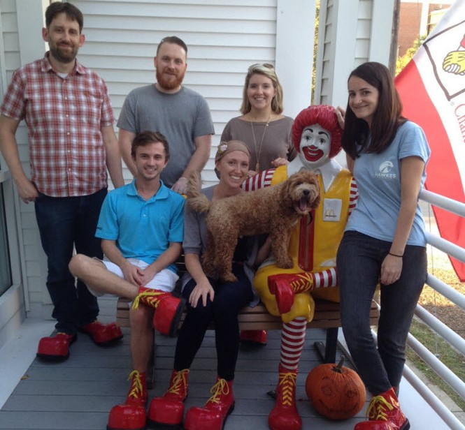 Ronald McDonald has quite the shoes to fill!
