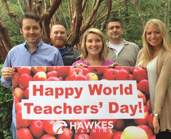 Happy World Teachers' Day from Hawkes!