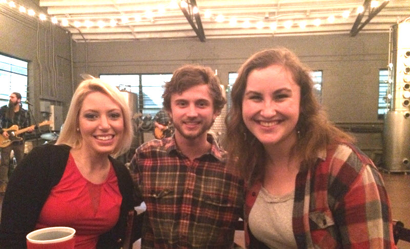 I got to eat dinner with Brittany and Steven, two of the nicest people around.