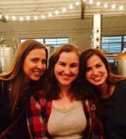 Three gorgeous brunettes