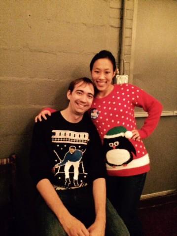 Holiday sweater winners