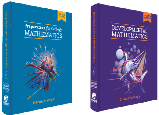 Preparation for College Mathematics and Developmental Mathematics new edition textbooks