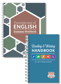 Grammer workbook and reading handbook