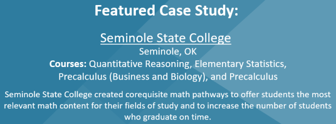Featured Case Study is Seminole State College in Seminole, OK.