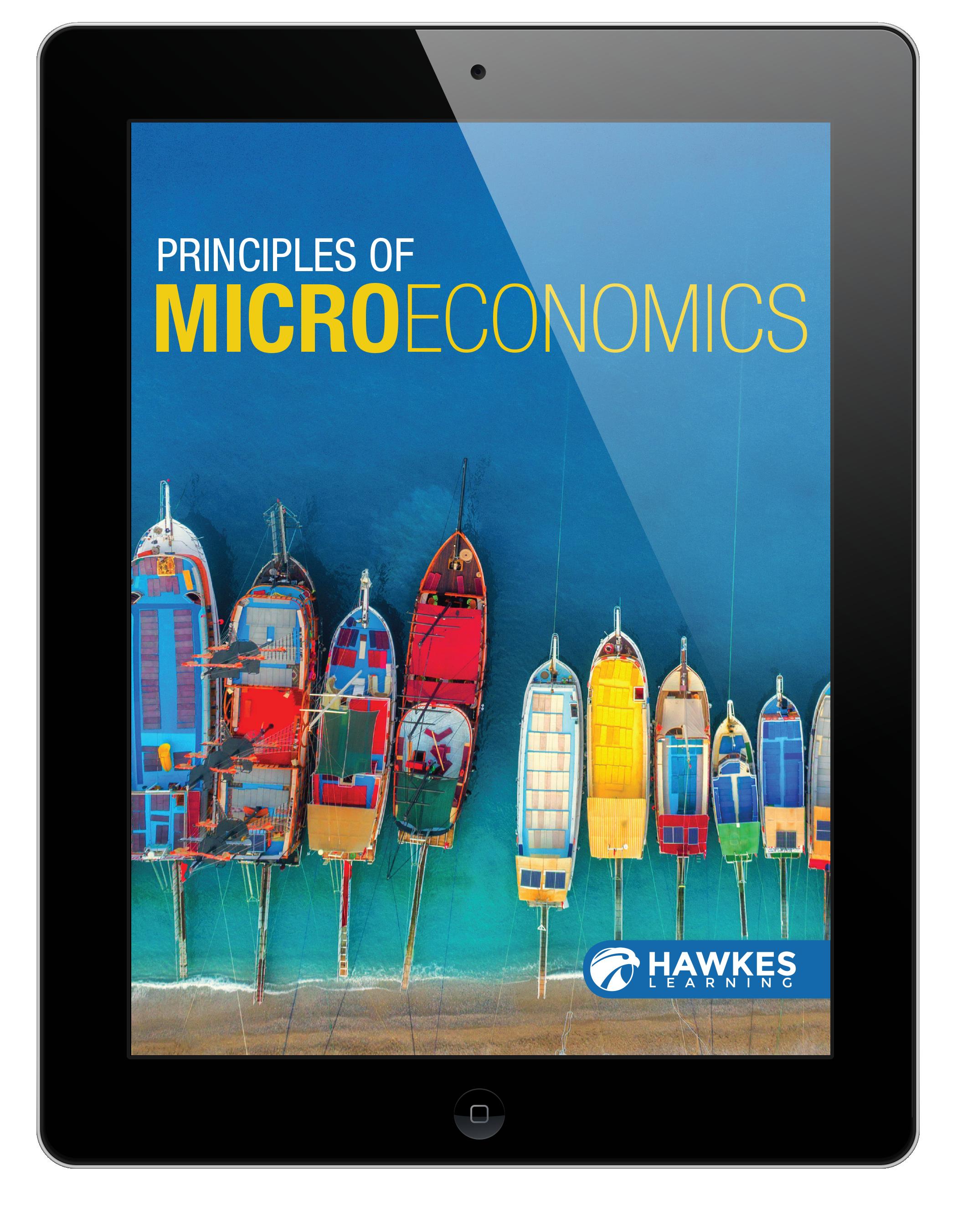 Principles of Microeconomics in iPad