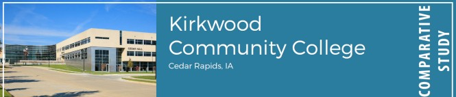 Kirkwood Community College, Cedar Rapids, IA. Comparative study.