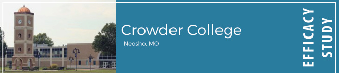 Crowder College in Neosho, MO; Efficacy Study