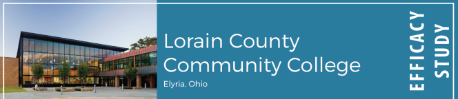 Lorain County Community College in Elyria, OH; Efficacy Study