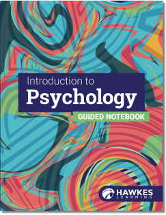 Cover of the Introduction to Psychology Guided Notebook