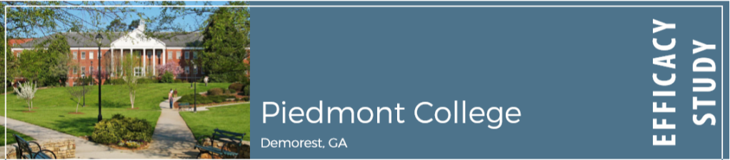 Piedmont College in Demorest, Georgia.
