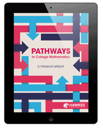 Pathways to College Mathematics Cover