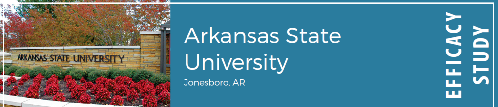 Arkansas State University Efficacy Study